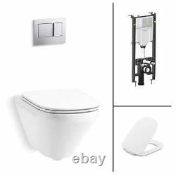 Kohler ModernLife Wall Hung Toilet Set WC Suite +Seat +Cistern Brand New RRP£947