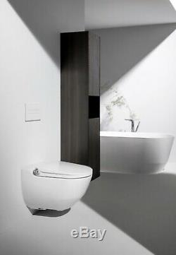 LAUFEN CLEANET RIVA Wall Hung Shower Toilet + Concealed Cistern & Frame 8.2069.1