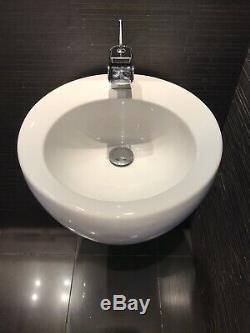 Laufen IL Bagno Alessi Wall Hung Toilet, Bidet & Basin