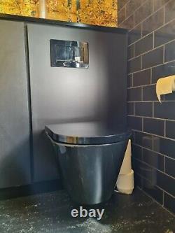 Laufen Kartell Wall Hung Toilet Gloss Black