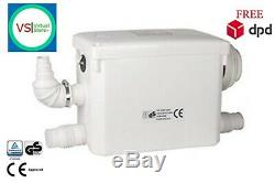 Macerator Supersilent Pump Hideable for wall hung toilet, sanitary waste pump