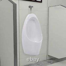 Mens Wall-hung Wall Mounted Urinal with Flush System Ceramic Washout Urinal WC