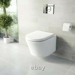 Mode Tate wall hung toilet with BNIB soft close seat