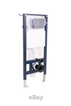 Modern Wall Hung Toilet with Soft Close Seat and Wall Mounting Frame