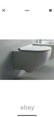 New Catalano Sfera 54 flush wallhung rimless toilet and Sfera Zero Plus Seat