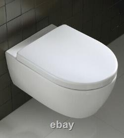 PALLET OF 18 NEW Twyford 3D (ICON) rim free wall hung toilets RRP £7290+VAT