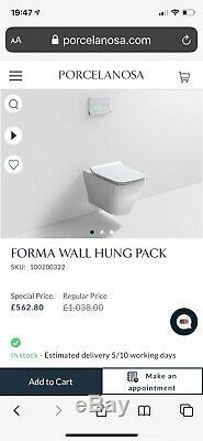 Porcelanosa Forma Wall Hung Pack