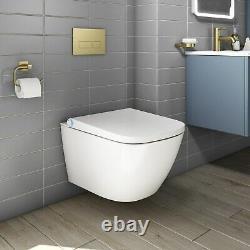 Purificare Wall Hung Square Bidet Toilet BeBa 26880