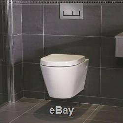RAK Adjustable Wall Hung Concealed WC Toilet Cistern Frame & Dual Flush Button