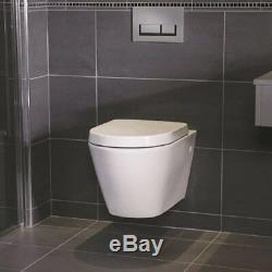 RAK Resort Wall Hung Rimless Toilet Pan & Soft Close Seat (RSTWHPAN/SC)