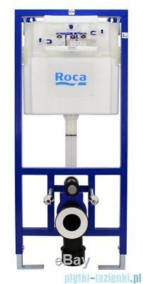 ROCA DUPLO PRO CONCEALED FRAME + ROCA DEBBA WALL HUNG + DUAL FLUSH PLATE 5in1