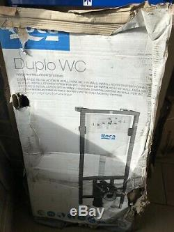 ROCA Wall hung DUPLO WC Dual Flush Toilet Frame Concealed Cistern. A890090020