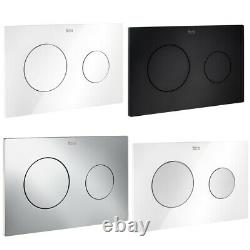 Roca Compact 80mm Concealed Cistern Wc Frame Resort Rimless Wall Hung Toilet Pan