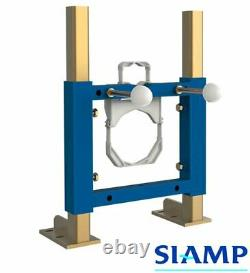 Slim / Narrow Frame for Wall Hung Toilet Pan Complete with Cistern & Flush Plate