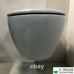 VILLEROY & BOCH SUBWAY WC wall hung toilet pan + Slim Soft Closing Seat