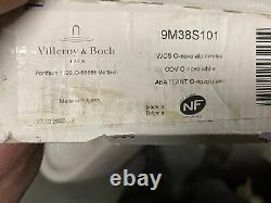 VILLEROY & BOCH Wall Hung Toilet O. NOVO & TOILET SEAT CW HINGES WHITE 9M35S10