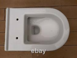 VITRA S50 White Compact RIMLESS FLUSH Wall Hung Toilet WC Pan