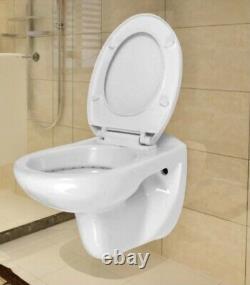 Vidaxl Wall Hung Toilet