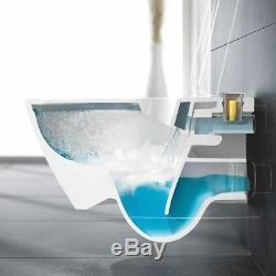 Villero&boch Subway 2.0 Direct Flush Wall Hung Toilet Pan + Slim Soft Close Seat