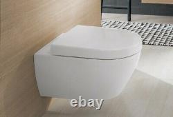 Villeroy&Boch 5600.10.01 Toilet Pan Subway 2.0 Wall Hung + soft close seat