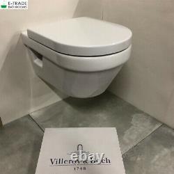 Villeroy&Boch ARCHITECTURA RIMLESS SOFT CLOSING TOILET 5684HR01