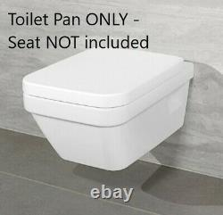 Villeroy & Boch Architectura Wall Hung Toilet WC Rimless Pan White 5685R001