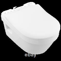 Villeroy & Boch Architectura wall hung toilet with slim Seat 5684.10.01