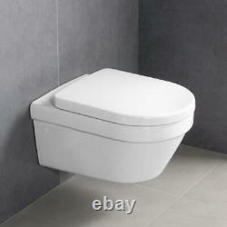 Villeroy & Boch Architectura wall hung toilet with soft Seat 4694R001 NEW model