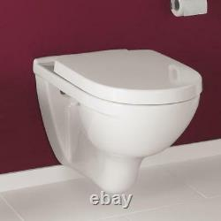 Villeroy & Boch O. Novo wall hung wc toilet pan + soft seat 5660.10.01