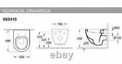 Villeroy & Boch SoHo Compact Wall Hung WC