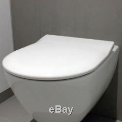 Villeroy&Boch Subway 2.0 56cm Rimless WC Wall Hung Toilet Pan with V&B Slim Seat