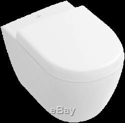 Villeroy & Boch Subway 2.0 compact wall hung wc rimless pan & seat 5606. R0.01