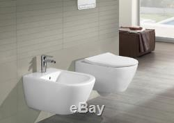 Villeroy & Boch Subway 2.0 wc wall toilet Slim Soft seat Limited offer! 56001001