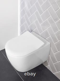 Villeroy & Boch Subway Soho wc wall hung pan only 660010R2 ceramic+ star white