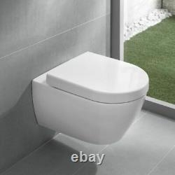 Villeroy & Boch Subway WC wall mounted toilet inc soft close seat 6600.10.01