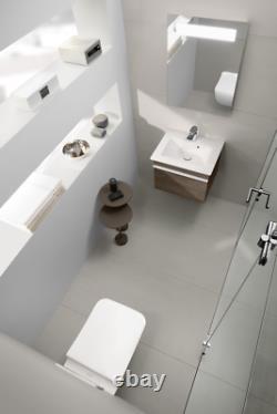 Villeroy & Boch Venticello rimless wall hung pan wc +soft close seat 4611RL01