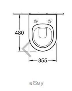 Villeroy and Boch Subway Toilet Pan Wall Hung Toilet