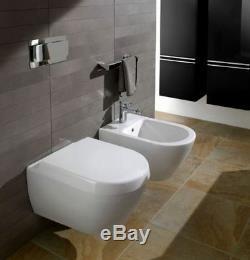 Villeroy&boch Subway 2.0 Compact Direct Flush 48cm Wall Hung Toilet Pan + Seat