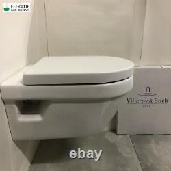 Villeroy&boch Viconnect Frame Architectura Rimless Soft Clos Ceramic Plus Toilet