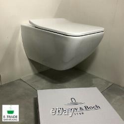 Villeroy&boch Viconnect Frame Venticello Rimless Soft Closin Toilet Ceramic Plus