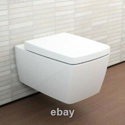 Vitra M Line 5676B003-0075 Wall Hung Toilet (no Seat)