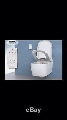 Vitra V Care Essential wall hung toilet