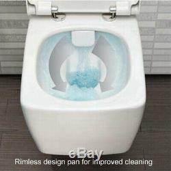 Vitra V Care Rimless Toilet Wall Hung Aqua Clean Bidet Wc Essential Model
