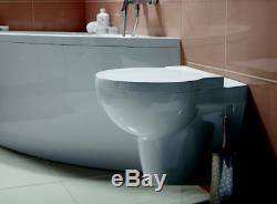 Wall Hung Mounted Toilet compact short Projection 480mm Optional Basin