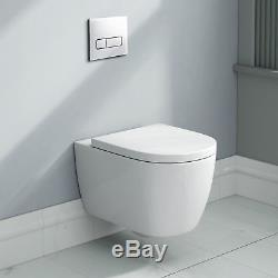 Wall Hung Toilet Frame Bathroom Flush Chrome Plate & Concealed Cistern CCFRAME02
