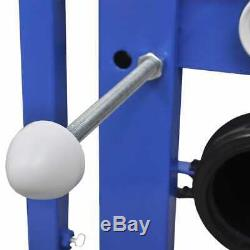Wall Hung Toilet WC Mounted Bathroom Ceramic Adjustable Concealed Frame Cistern