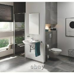 Wall Hung Toilet with Soft Close Seat, Wall Hanging Frame and Cistern Grohe So
