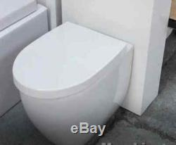 Wall Hung Toilets with Soft Close Seat