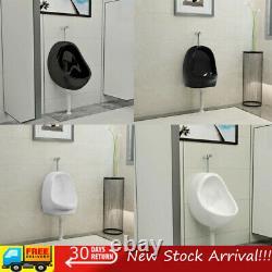 Wall Hung Urinal with Flush Valve Ceramic Wall-mounted Urinal Pee Processor