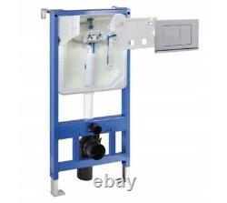 Wall Hung Wc Frame With Flush Button. Top Seller In Poland